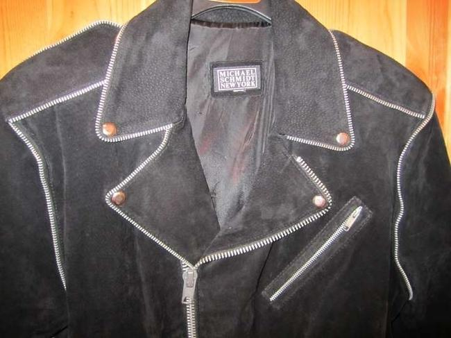 Other Biker Suede Leather Vintage Motorcycle Jacket
