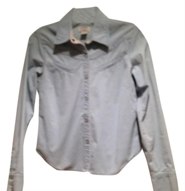 Preload https://item4.tradesy.com/images/anthropologie-powder-blue-marked-down-button-down-top-size-4-s-394848-0-0.jpg?width=400&height=650