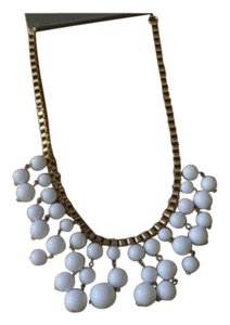 NWT White Bubble Statement Necklace