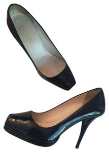 Prada Patent Leather Platform Pumps