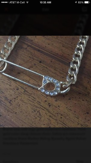 Other NWT Safety pin Statement Necklace