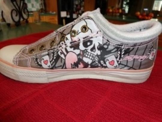 Ed Hardy Gray/Pink Athletic