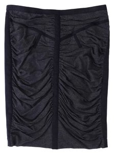 Dolce&Gabbana Ruched Skirt Gray & Black