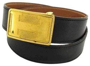 Hermès [ENTERPRISE] Belt Shadow Buckle Square HTL23 166829