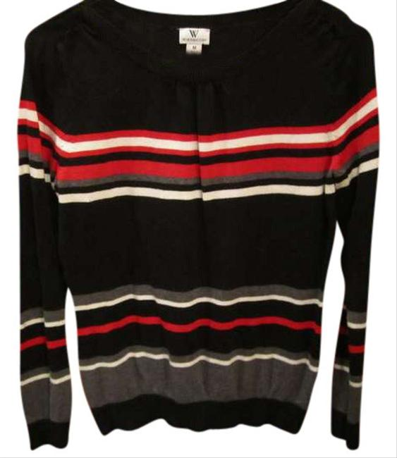 Preload https://img-static.tradesy.com/item/394908/worthington-black-sweaterpullover-size-8-m-0-0-650-650.jpg