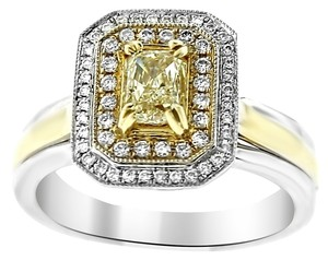 Gabriel and Loren K. GLK 14K TWO TONE GOLD 1.00CT DIAMOND RING