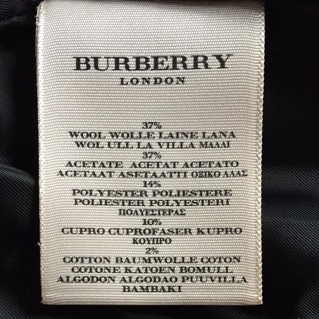 Burberry London Black Print Blazer Image 8