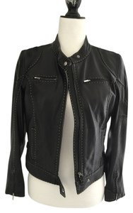 Fendi Leather Black Jacket