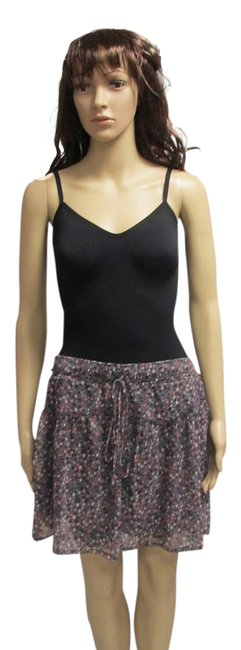 American Eagle Outfitters Floral Mini Skirt Purple