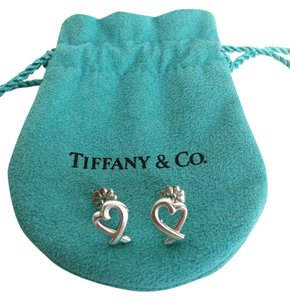 Tiffany & Co. Tiffany & Co. Paloma Picasso Loving Heart Earrings in sterling silver