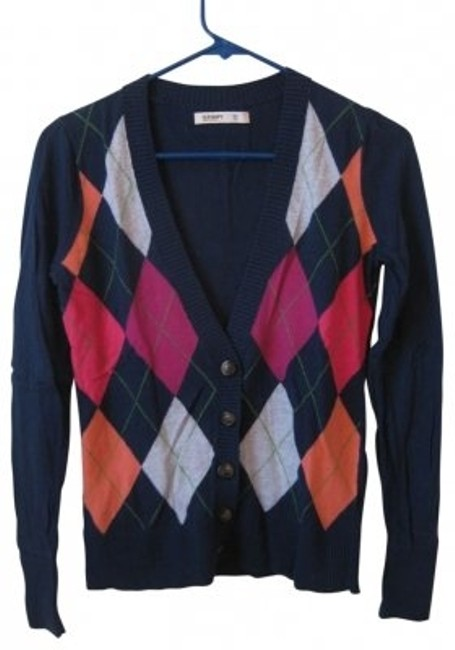 Preload https://item1.tradesy.com/images/old-navy-multi-argyle-sweater-cardigan-size-0-xs-39495-0-0.jpg?width=400&height=650