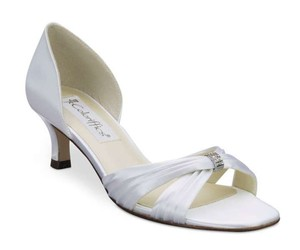 Coloriffics Coloriffics Shoes Fantasy - Matte Satin W/pleat Wedding Shoes