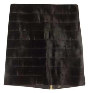 Pleasure Doing Business Mini Skirt Black