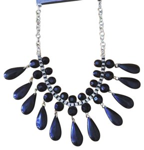 NWT Black Statement Necklace