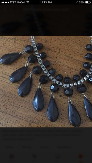 Other NWT Black Statement Necklace