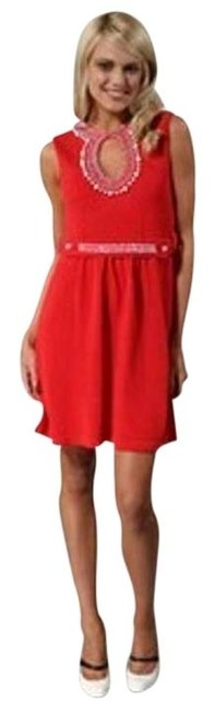 Preload https://img-static.tradesy.com/item/395044/nanette-lepore-red-lucia-mid-length-short-casual-dress-size-4-s-0-0-650-650.jpg