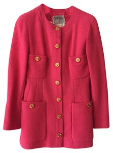 Chanel Vintage Jacket Hot Pink Blazer