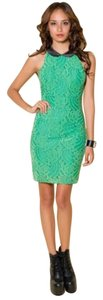 Motel Rocks Nastygal New Lace Peter Pan Collar Dress