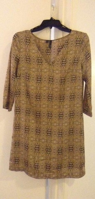 Mango Chic Leopard Tunic Dress