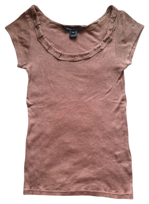 Marc Jacobs Knit T Shirt Tan