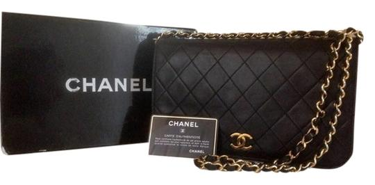 Preload https://item4.tradesy.com/images/chanel-classic-flap-two-black-lambskin-leather-shoulder-bag-3950953-0-0.jpg?width=440&height=440