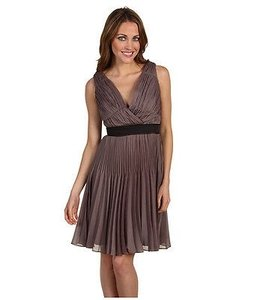 Max And Cleo Taupe Rose Dress