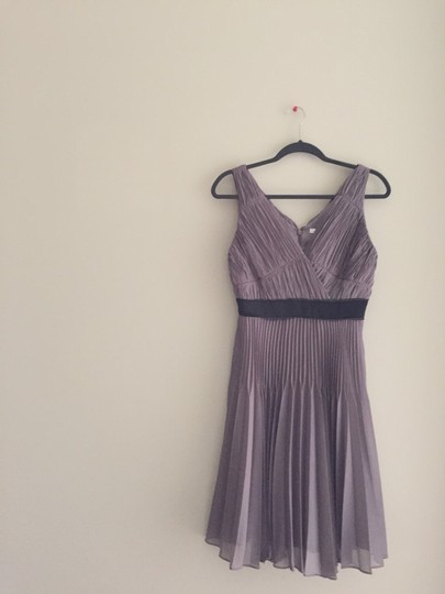 Max and Cleo Taupe Rose Bridesmaid/Mob Dress Size 6 (S)