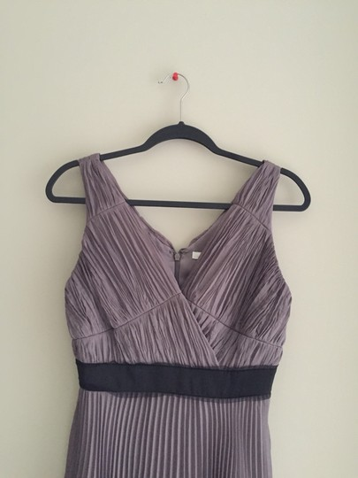 Max and Cleo Taupe Rose Dress Size 6 (S)