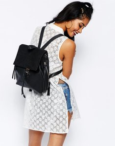 River Island Real Leather Backpack