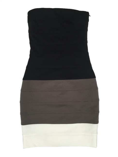 Preload https://item5.tradesy.com/images/ali-ro-black-brown-white-colorblock-knee-length-cocktail-dress-size-2-xs-3951319-0-0.jpg?width=400&height=650
