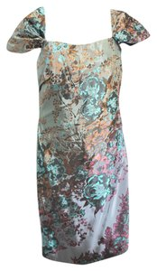 Rene Ruiz Stretch Jacquard Dress