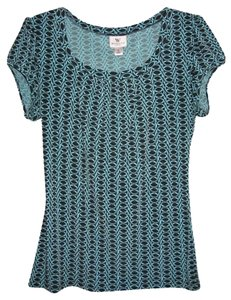 Worthington Top Balck/Teal