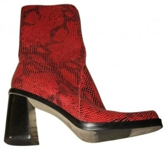 Preload https://item1.tradesy.com/images/mia-shoes-red-and-black-snake-skin-bootsbooties-size-us-75-regular-m-b-39515-0-0.jpg?width=440&height=440