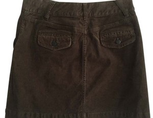 J.Crew Corduroy Classic Mini Skirt brown