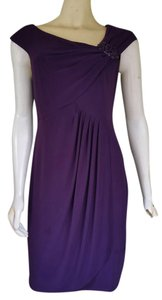 Jessica Howard Asymmetrical Draped Dress