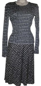Diane von Furstenberg Top Skirt Shell Top Monogram Dress