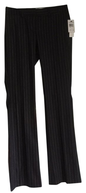 Theory Brand New With Tags Wool Straight Pants dark gray