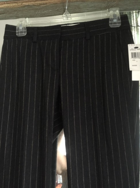 Theory With Tags Wool Straight Pants dark gray