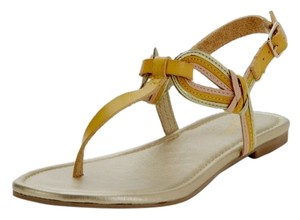 Seychelles Summer Leather Yellow Sandals