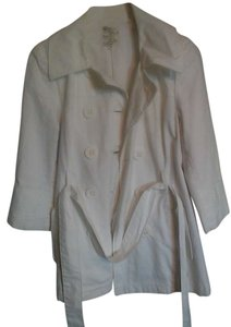 Tulle Spring Fall Cotton Casual Trench Coat