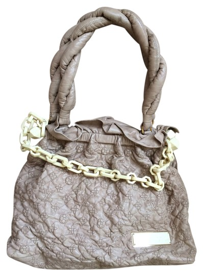 Louis Vuitton Limited Edition Olympe Tote Leather Shoulder Bag