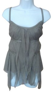 A X Armani Exchange Grecian Top Taupe