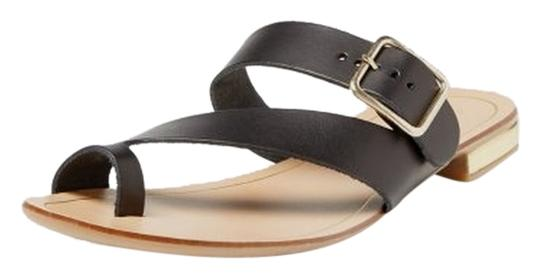 Seychelles Leather Summer Black Sandals Image 0
