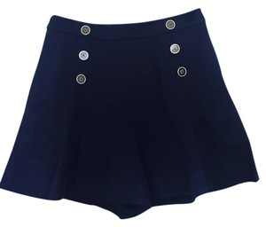 Betsey Johnson Retro Nautical Shorts Navy