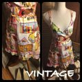 Vintage Nick & Nora short dress Pink/Green/Yellow/Blue/Red on Tradesy Image 5