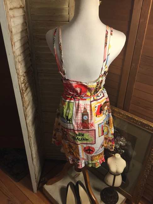 Vintage Nick & Nora short dress Pink/Green/Yellow/Blue/Red on Tradesy Image 6