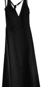 Scott McClintock Gown Satin Halter Dress