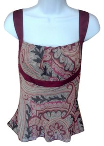 Kenneth Cole Paisley Top Multi