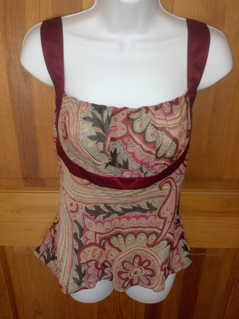 Kenneth Cole Paisley Top Multi Image 1