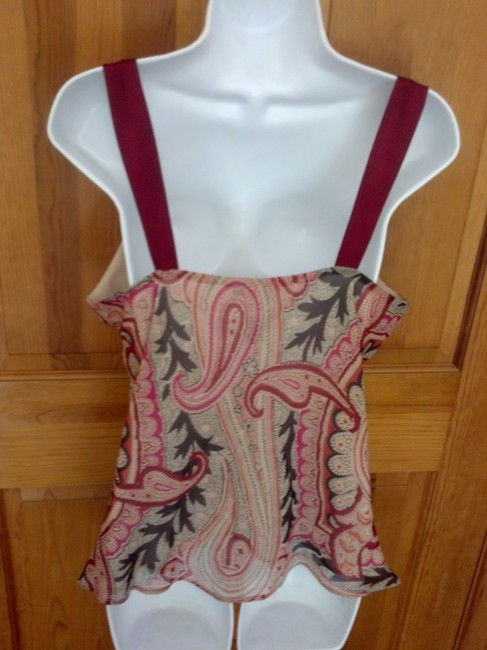 Kenneth Cole Paisley Top Multi Image 4